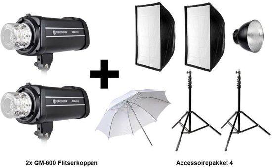Bresser GM600 Flitsset met aktiepakket 4