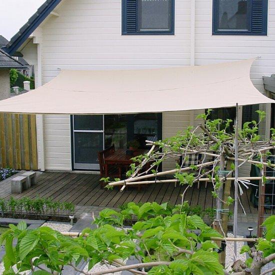 Schaduwdoek Bol Com.Bol Com Nc Outdoor Schaduwdoek Vierkant 3 6m Zand