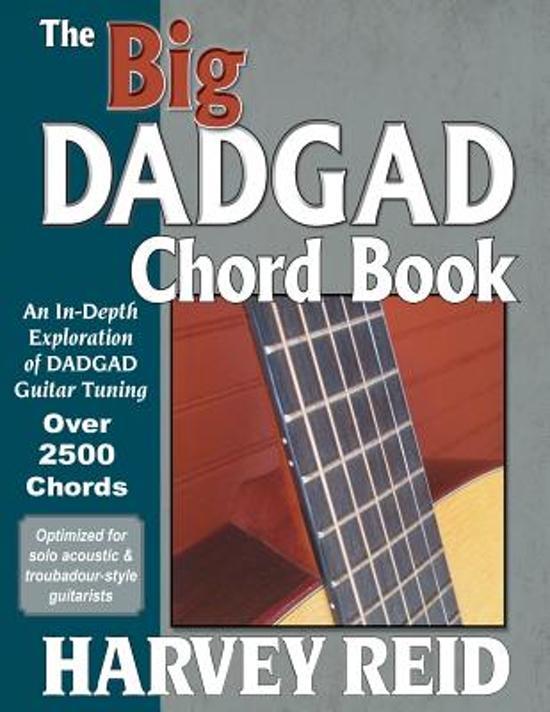 Bol The Big Dadgad Chord Book Harvey Reid 9781630290429