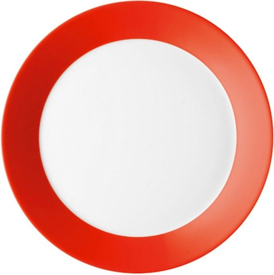 Arzberg Tric Hot Ontbijtbord - Ø 22 cm - Rood