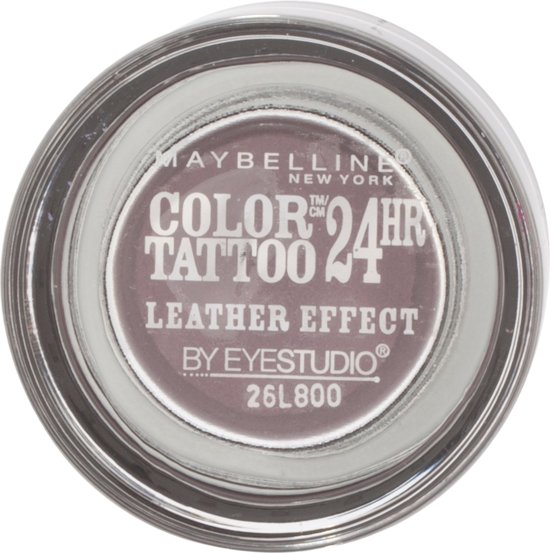 Maybelline Color Tattoo Leather 97 Vintage Plum Violet Shimmer oogschaduw