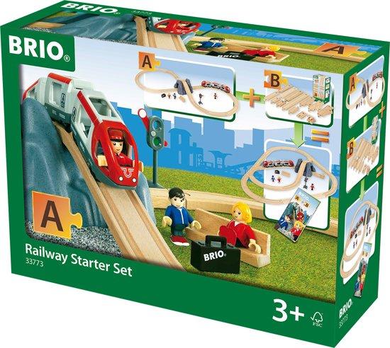 Afbeelding van BRIO Railway Trein starterset A - 33773 speelgoed