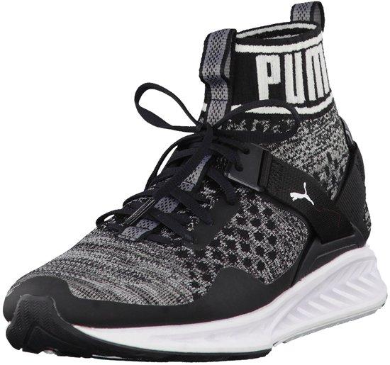 Chaussures De Sport Puma Enflamment Evoknit Hommes Noirs wBKKhY