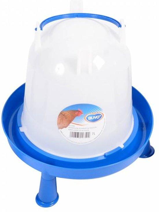 Drinktoren blauw met pootjes 10 liter