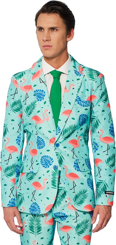 26870edb7c9f09 Suitmeister Tropical - Mannen Kostuum - Gekleurd - Carnaval - Maat S