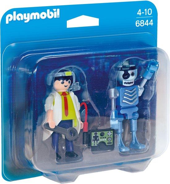 Playmobil Duopack uitvinder en robot - 6844