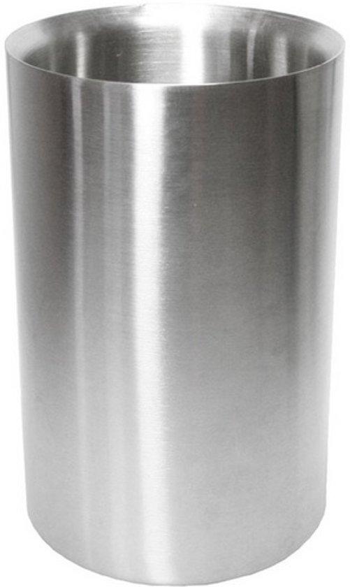 wijnkoelers |RVS | flessenkoeler | ijsbak | wijn koeler | water koeler | koud | tafelen | wijnkoeler | dubbelwandig