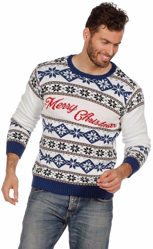Kersttrui Heren L.Bol Com Witte Kersttrui Merry Christmas Voor Dames En Heren