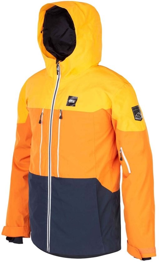 Picture Object expedition yellow wintersport jas heren maat M