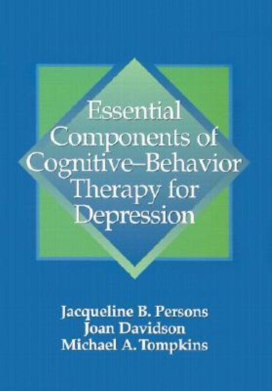 a personal theory of cognitive behavioral therapy This one of a kind personal service by dr definition of cognitive behavioral therapy: cognitive-behavioral therapist teach cbt theory and techniques rely.