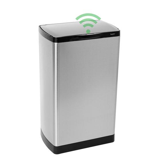 Keuken Afvalbakken : bol.com Easybin Sensor Flatline Prullenbak – 40 l