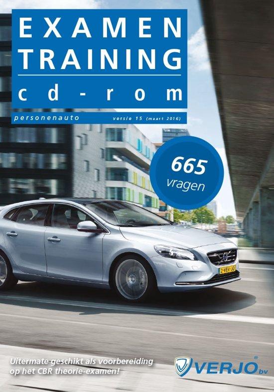 Theorie examen Rijbewijs B - Examentraining CD-rom Personenauto 665 vragen versie 15