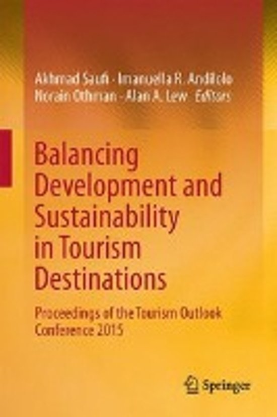Balancing Development and Sustainability in Tourism Destinations