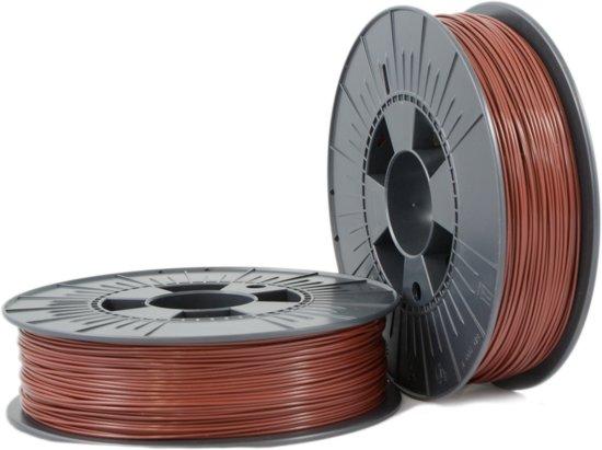 ABS 1,75mm  brown ca. RAL 8016 0,75kg - 3D Filament Supplies