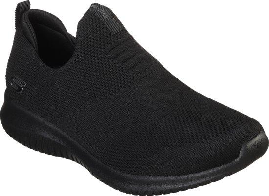 167c6c9fa39 bol.com | Skechers Ultra Flex-First Take Sneakers Dames - Black ...