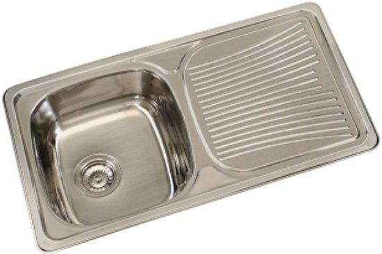 Wasbak Keuken Opbouw : Bol.com spoelbak opbouw met afdruip 020089