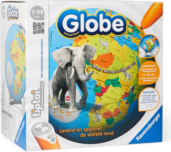Afbeelding van Tiptoi® Interactieve Globe - Wereldbol speelgoed