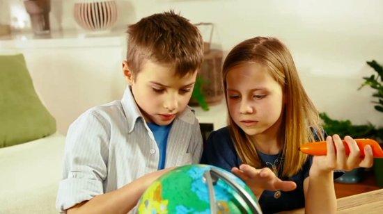 Thumbnail van een extra afbeelding van het spel tiptoi® interactieve globe