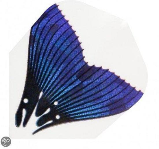 Harrows darts Flight 1616 hologram fish tail