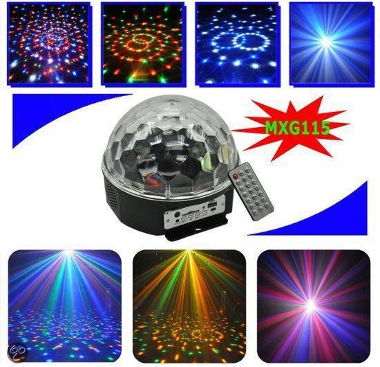 bol.com | discobal led met muziek mp3 speler, Moonlight | Speelgoed