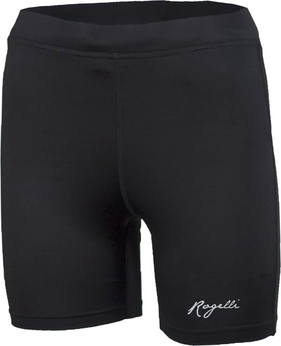 Rogelli Mulga Runningshort Tight - Hardloopbroek - Vrouwen - Maat M - zwart