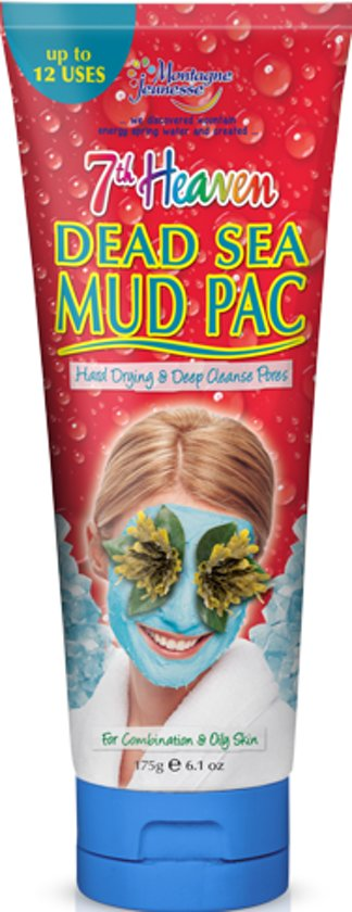 Montagne Jeunesse 7th Heaven Dead Sea Mud Pac Tube in Scharendijke