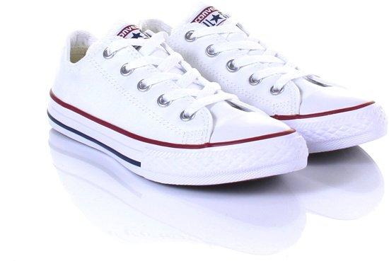 71ce08c387c bol.com | Converse Meisjes Sneakers Chuck Taylor Kids - Wit - Maat 27