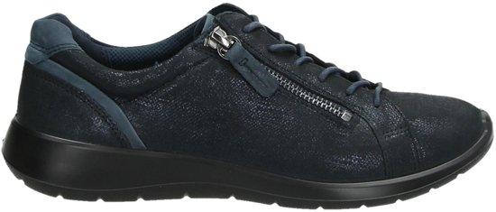 40 Dames navy soft Maat 5 53579 Ecco Blauw;blauwe 283073 Veterschoenen marine vIwnYP