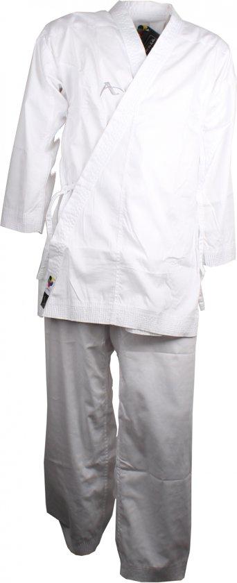 Arawaza Karatepak Kumite Deluxe Wkf Wit Unisex Maat 190