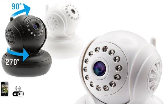 Indoor Wifi HD Camera - Wit