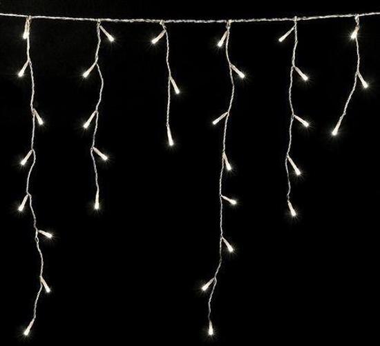 Bol Com Led Kerstverlichting Ijspegel Gordijn Slingers 4 Meter