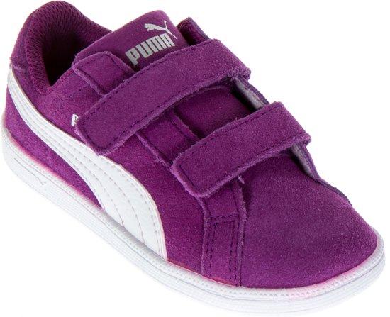 bol.com | Puma Smash Fun SD V Sneakers - Maat 27 - Meisjes ...