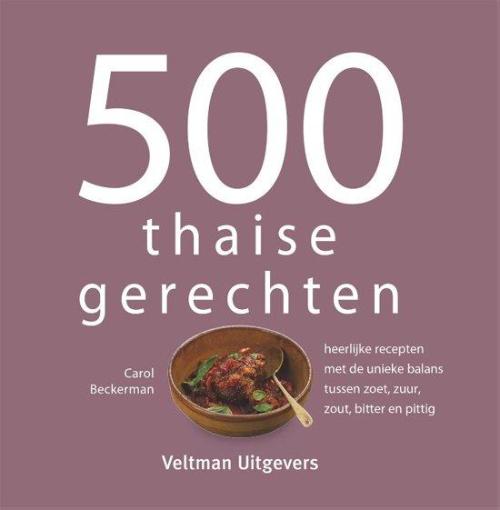 Boek cover 500 thaise gerechten van Beckerman, Carol (Hardcover)