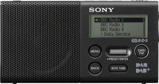 Sony XDR-P1DBP - DAB+ radio - Zwart