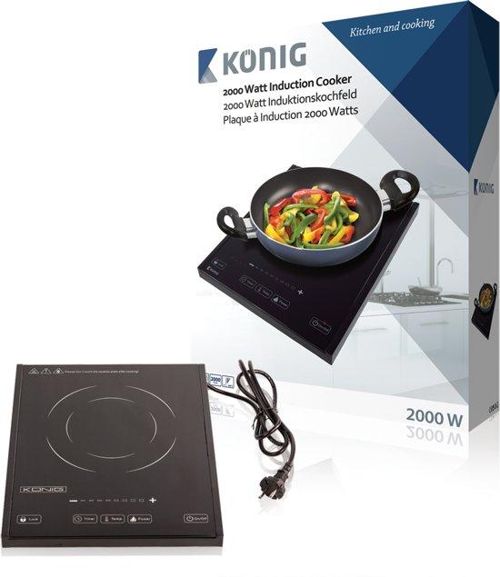 Keramische Kookplaat Aanraakbediening : Bol könig inductie kookplaat w