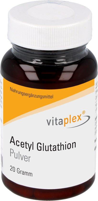 Vitaplex, acetyl glutathion, poeder