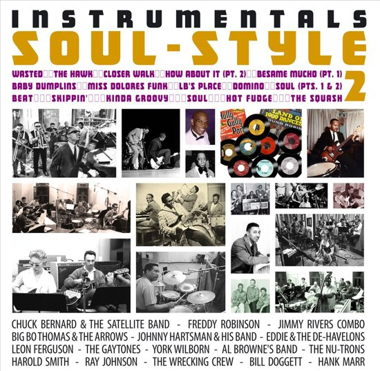 Various - Instrumentals Soul Style Vol.2