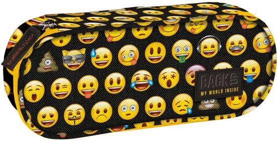 Back Up Emoji - Etui - 23 x 9 x 5,5 cm - Multi