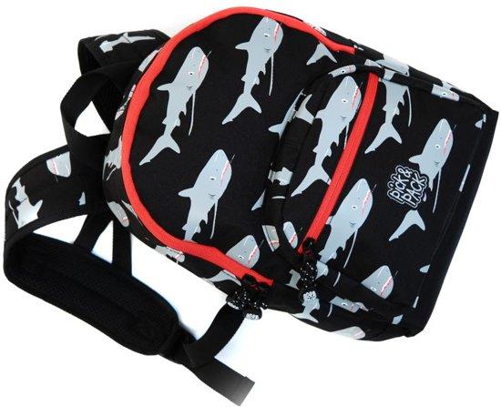 Pick & Pack Shark Rugzak - Black Multi