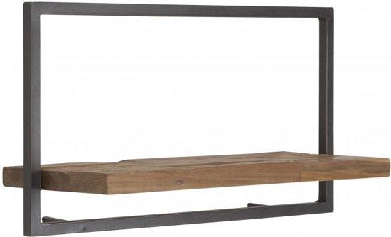 Wandplank Diepte 15 Cm.Shelfmate D Bodhi Type A Wandbox Wandplank Teakhout 65 X 25 X 35 Cm