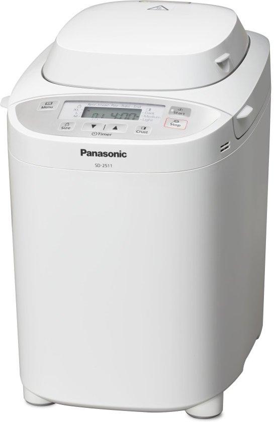 Panasonic SD-2511 WXE - Broodbakmachine