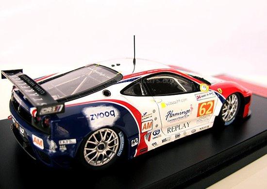 FUJIMI 1:43 Ferrari F430 GTC CRS Racing #62 Le Mans 24h 2011