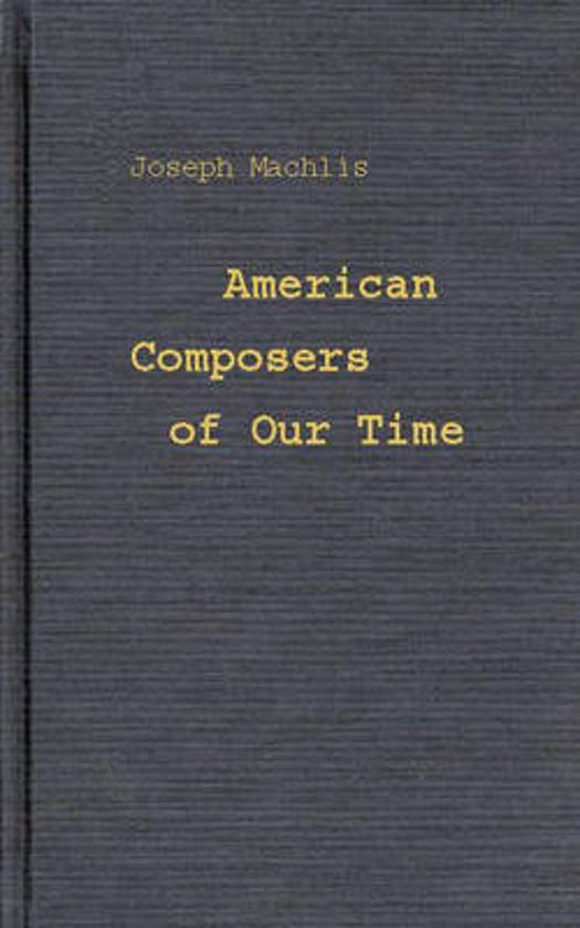 American Composers of Our Time