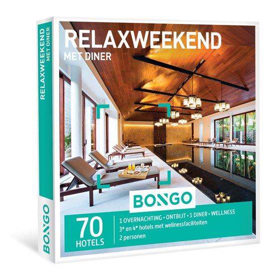 bongo relaxweekend met diner cadeaubon