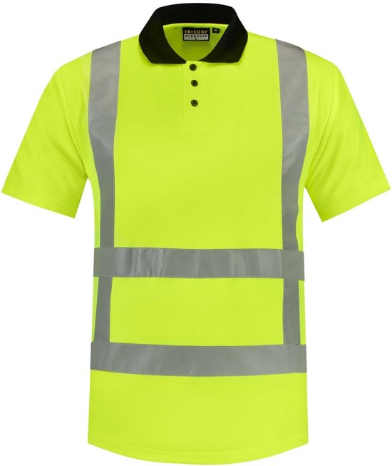 Tricorp Poloshirt RWS - Workwear - 203001 - Fluor Geel - maat 4XL