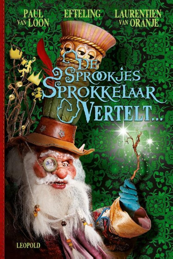 Boek cover De Sprookjessprokkelaar vertelt... van Paul van Loon (Hardcover)