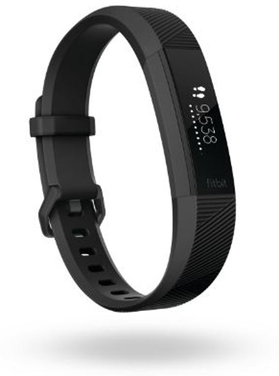 Fitbit Alta HR Acc black gunmetal, small