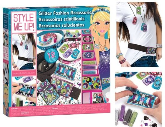 Style Me Up Glitter Fash Acc Speelgoed