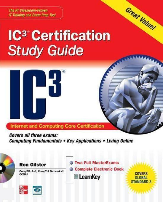 Bol Internet Core And Computing Ic3 Certification Global
