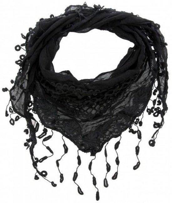 Favoriete bol.com   Zwarte driehoek sjaal @SU57